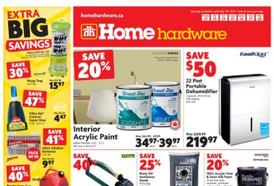 Home Hardware (BC) Flyer July 22 to 28