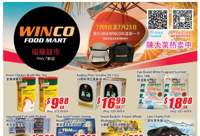 WinCo Food Mart (HWY 7) Flyer July 22 to 28