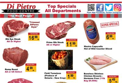 Di Pietro Food Centre Flyer July 22 to 28