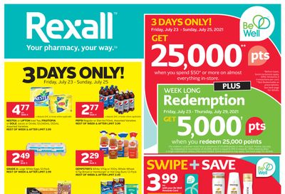 Rexall (West) Flyer July 23 to 29
