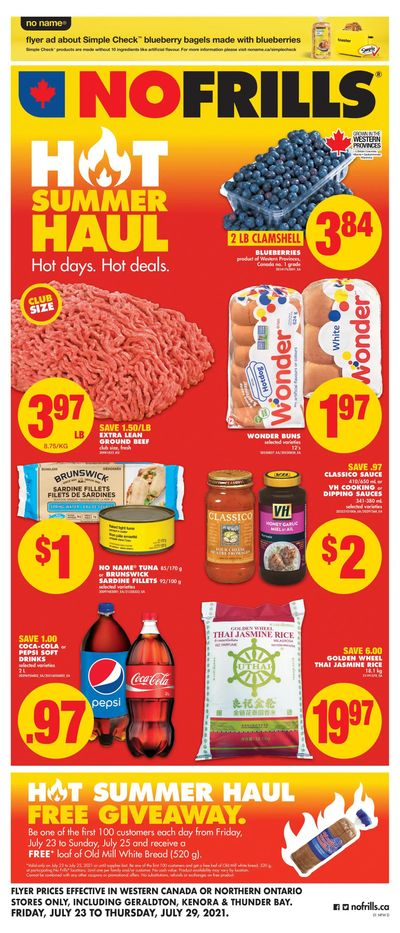 No Frills (West) Flyer July 23 to 29