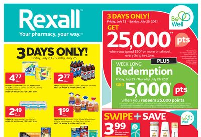 Rexall (London, ON) Flyer July 23 to 29