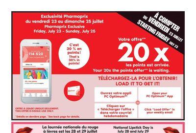 Pharmaprix Flyer July 24 to 29