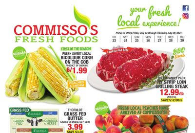 Commisso's Fresh Foods Flyer July 23 to 29