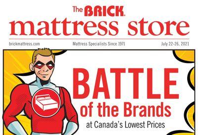 The Brick Mattress Store Flyer July 22 to 26