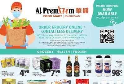 Al Premium Food Mart (McCowan) Flyer July 22 to 28