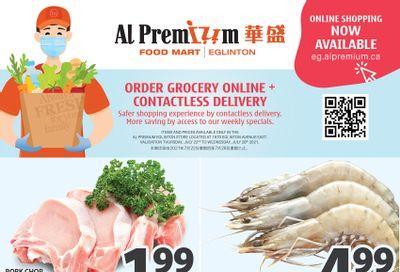 Al Premium Food Mart (Eglinton Ave.) Flyer July 22 to 28