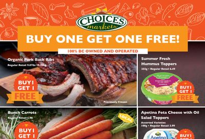 Choices Market Flyer July 22 to 28