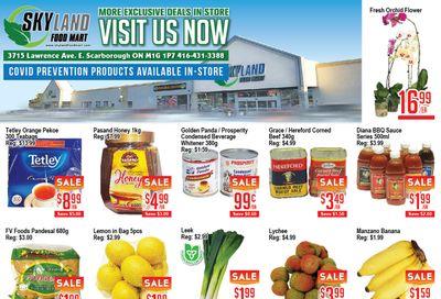 Skyland Food Mart Flyer July 23 to 29