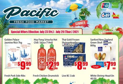 Pacific Fresh Food Market (North York) Flyer July 23 to 29