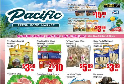 Pacific Fresh Food Market (Pickering) Flyer July 23 to 29