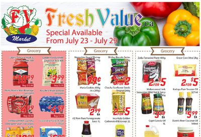 Fresh Value Flyer July 23 to 29