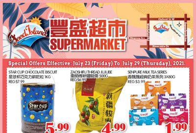 Food Island Supermarket Flyer July 23 to 29