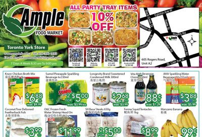 Ample Food Market (North York) Flyer July 23 to 29