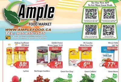 Ample Food Market (Brampton) Flyer July 23 to 29