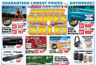 2001 Audio Video Flyer July 23 to 29