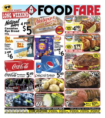 Food Fare Flyer July 24 to 30