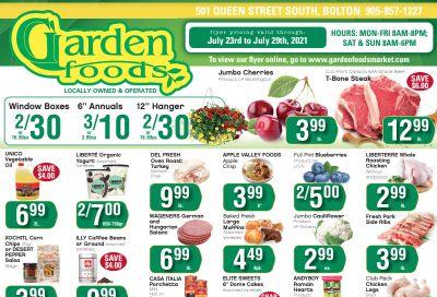 Garden Foods Flyer July 23 to 29
