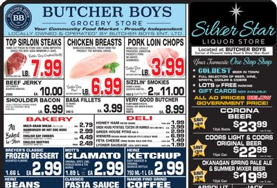Butcher Boys Grocery Store Flyer July 23 to August 2