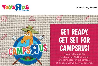 Toys R Us Flyer July 22 to 28