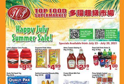Top Food Supermarket Flyer July 23 to 29