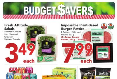 Buy-Low Foods Budget Savers Flyer July 25 to August 21