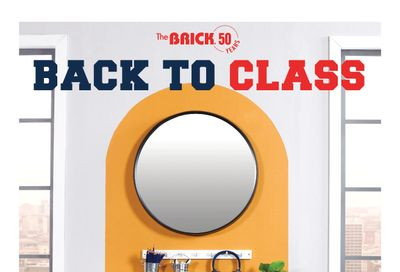 The Brick Back to Class Flyer July 27 to September 1