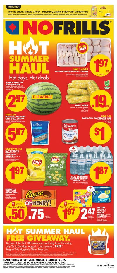 No Frills (ON) Flyer July 29 to August 4