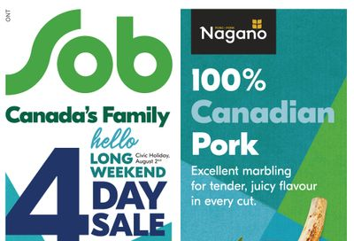 Sobeys (ON) Flyer July 29 to August 4