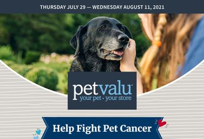 Pet Valu Flyer July 29 to August 11