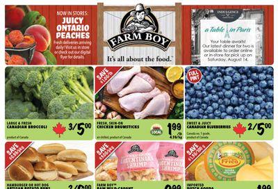 Farm Boy Flyer July 29 to August 4