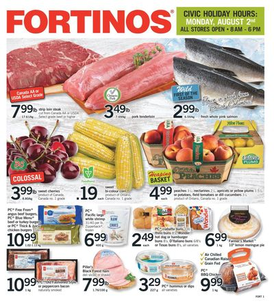 Fortinos Flyer July 29 to August 4