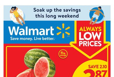 Walmart (West) Flyer July 29 to August 4