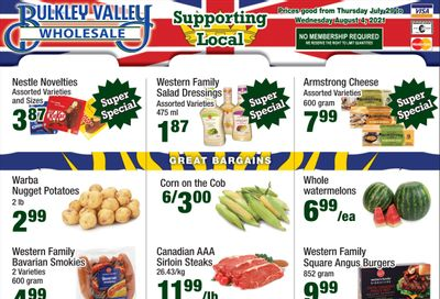 Bulkley Valley Wholesale Flyer July 29 to August 4