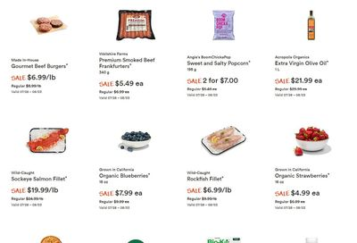 Whole Foods Market (West) Flyer July 28 to August 3