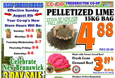 Fredericton Co-op Flyer July 29 to August 4