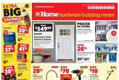 Home Hardware Building Centre (ON) Flyer July 29 to August 4