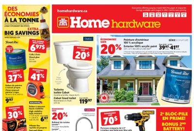 Home Hardware (QC) Flyer July 29 to August 4