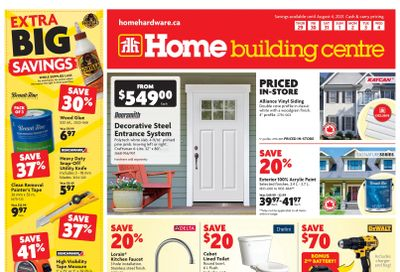 Home Building Centre (ON) Flyer July 29 to August 4