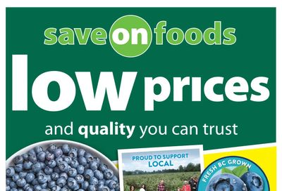 Save on Foods (SK) Flyer July 29 to August 4