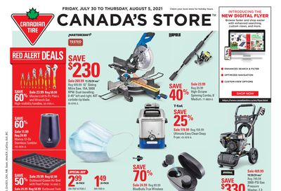 Canadian Tire (West) Flyer July 30 to August 5