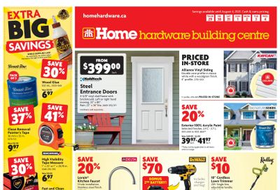 Home Hardware Building Centre (Atlantic) Flyer July 29 to August 4
