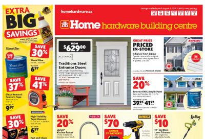 Home Hardware Building Centre (BC) Flyer July 29 to August 4