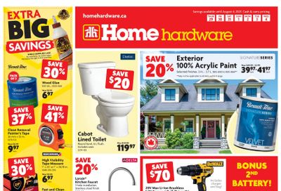 Home Hardware (BC) Flyer July 29 to August 4