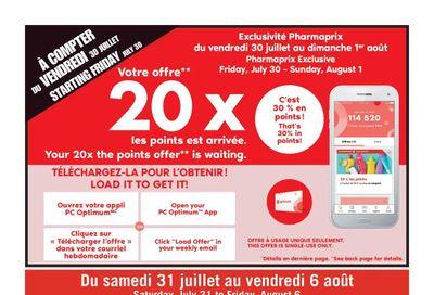 Pharmaprix Flyer July 31 to August 6