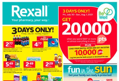 Rexall (West) Flyer July 30 to August 5