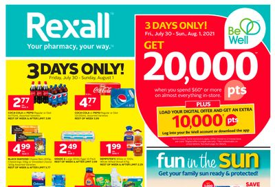 Rexall (London, ON) Flyer July 30 to August 5