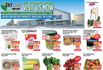 Skyland Food Mart Flyer July 30 to August 5