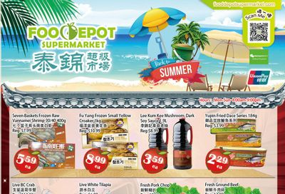 Food Depot Supermarket Flyer July 30 to August 5