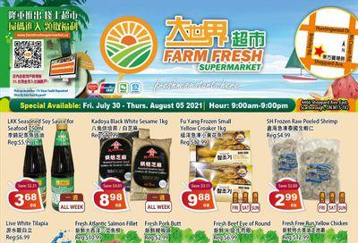 Farm Fresh Supermarket Flyer July 30 to August 5